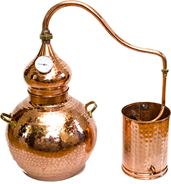 Portuguese Copper distiller - Alambic